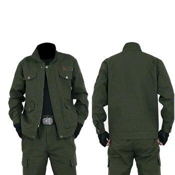 Man Military Uniform Jungle German Camouflage Combat Tactical Jacket Pants Clothing Set Army Suit Wholesale men jungle outdoor tactical military combat uniform camouflage suit hunting long sleeve jacket long pants trousers set clothing