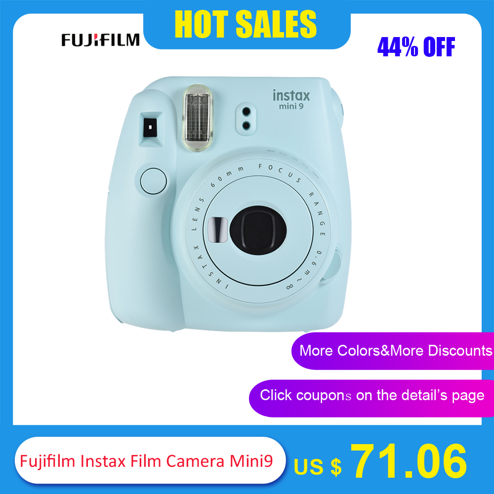 5 Colors Fujifilm Instax Mini 9 Instant Camera Photo Camera 2 Options/MINI 9+13 in 1 Kit Camera Case Filter+Album+Sticker+Other Бороскопы