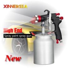 цена на High Quality Environmental Protection Spray Gun Pneumatic Spray Gun Paint Tools Car Spray Painting Paint Spray Gun 1.0 1.3 1.5