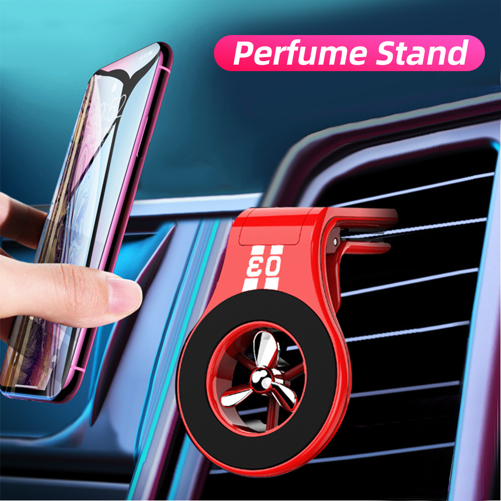 FONKEN Car Phone Magnetic Holder Air Vent Mount Paddle Rotation Magnet Stands For Mobile Universal Car Bracket Phone Accessorie