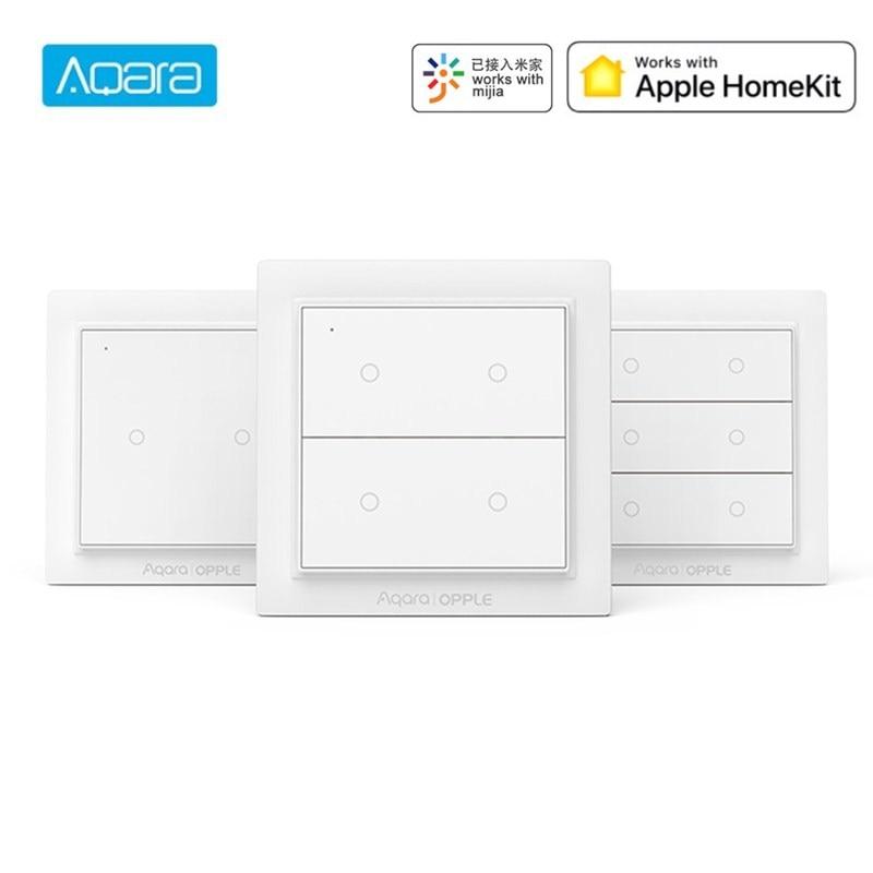Original Aqara Wireless Smart Switch Wall Switch Work With ZigBee 3 0 Mijia App Apple HomeKit Wall Switch Opple