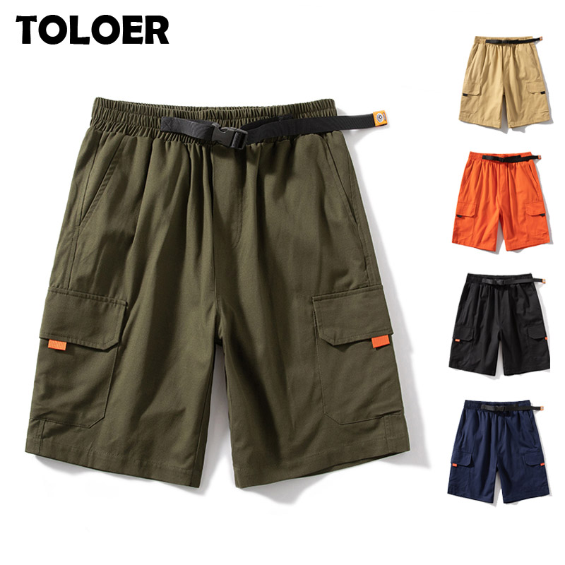S-8XL Cargo Shorts Men Fashion Summer Multi-Pocket Tactical Shorts Male Army Green Black Streetwear Joggers Short Pants 6XL 7XL