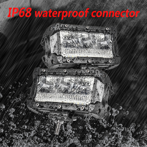 Image 3 - Aeobey 2pcs 5inch 45w LED Light Bar Waterproof IP68 led work Light for led Driving light Offroad 4x4 Boat Car Tractor Truck atv