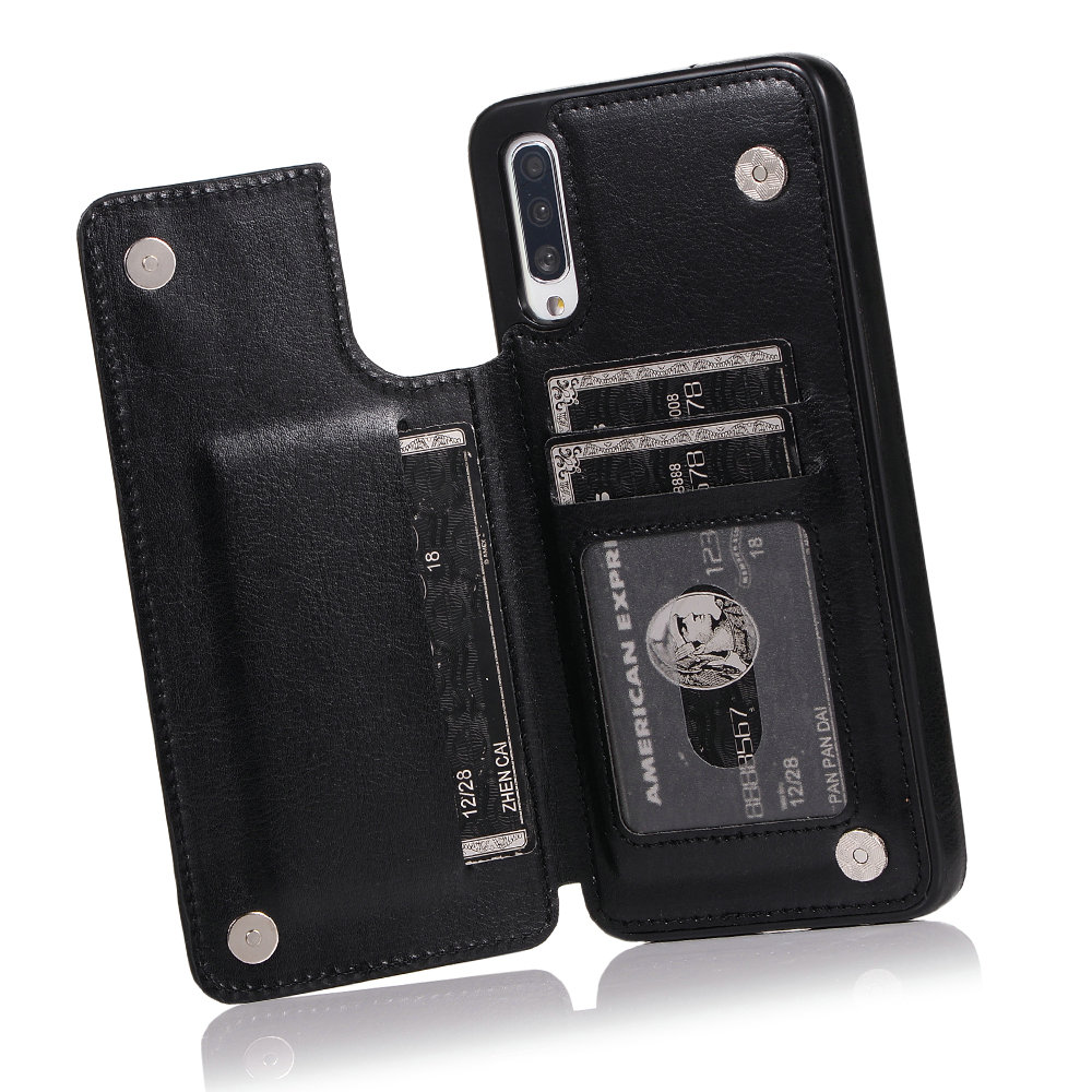 Luxury Flip Card Slot for <font><b>Samsung</b></font> A51 Case <font><b>Samsung</b></font> A71 A 51 <font><b>A50</b></font> S A40 A30 A20 A10 A90 5G <font><b>Back</b></font> <font><b>Cover</b></font> for <font><b>Samsung</b></font> Galaxy A70 Coque image