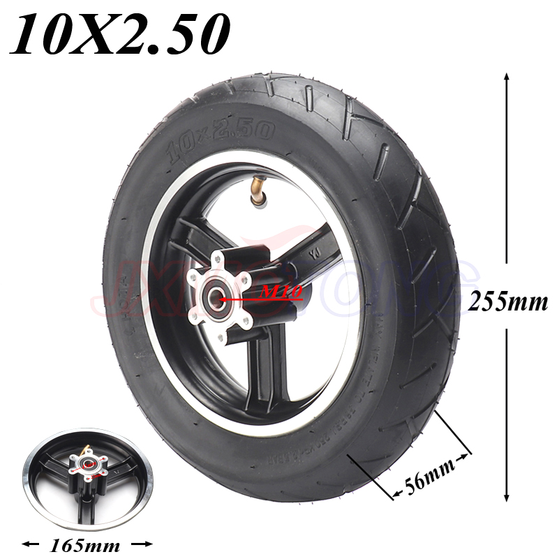 High quality SPEEDWAY <font><b>10*2.5</b></font> inch wheel hub electric scooter Inner tube outer tube Explosion-proof <font><b>tires</b></font> Advanced <font><b>tire</b></font> image