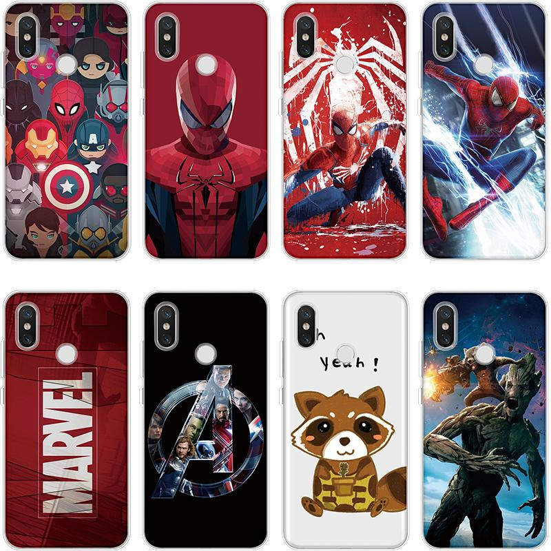 <font><b>Marvel</b></font> The Avengers Guard Groot Coque For TPU <font><b>Xiaomi</b></font> <font><b>Redmi</b></font> 7 GO 4X 5 Plus 5A 6 Pro S2 <font><b>Note</b></font> 7 6 Pro <font><b>4</b></font> 4X 5A For <font><b>Redmi</b></font> <font><b>Note</b></font> 5 <font><b>Case</b></font> image