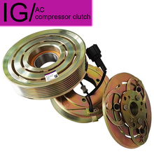 New Air Conditioner Compressor Clutch Assy For Nissan Patrol Y61 2004 92600VC90A AC hub pulley coil