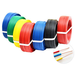 1/2/5/10/50Meters BV0.07mm² PVC Insulated Wire Electronic Cable BV Hard Wire White/Black/Red/Yellow/Blue/Green Color