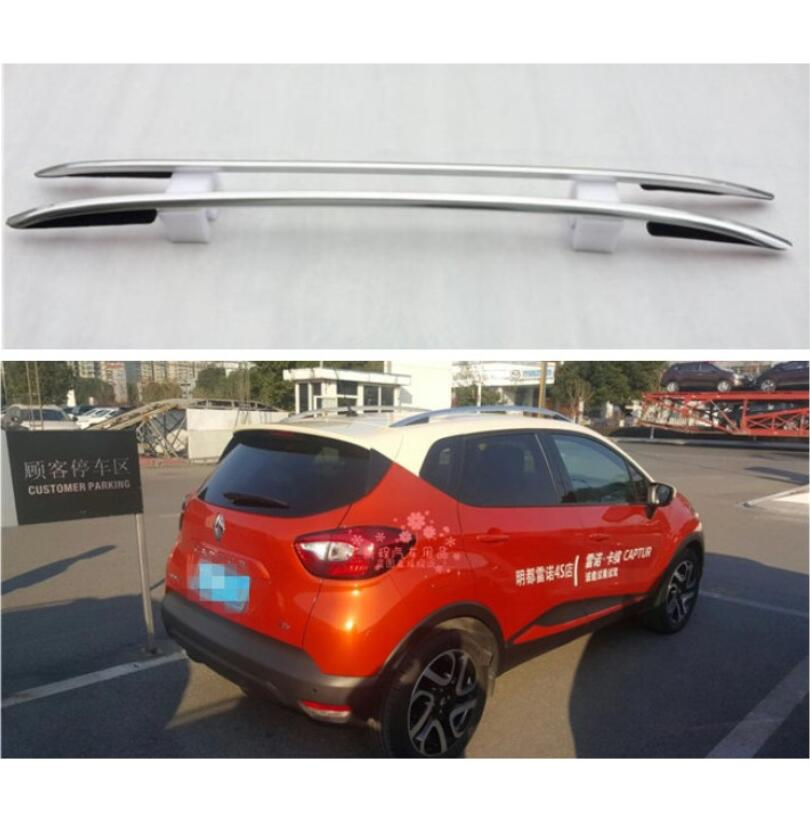 For Renault Captur 2015.2016.2017 Roof Racks Auto Luggage Rack High Quality New Aluminum Paste Installation Car Accessories title=