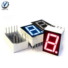 0.56 pollici A LED Modulo Display 7 Segmenti 1 Bit/2 Bit/3 Bit/4 Bit Catodo Anodo cifre Tubo Modulo LED Rosso Display Digitale Blu(China)