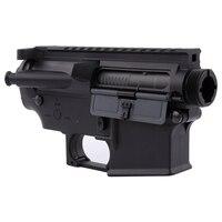 Nylon M4 Airsoft Receiver for Ver.2 AEG Body Gel Blaster Split Airsoft Air Guns Gearbox Paintball Accessories