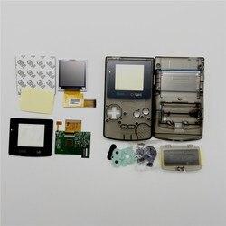 GBC شاشة إل سي دي عالية الإضاءة وقذيفة جديدة للون جيمبوي ، GBC شاشة LCD