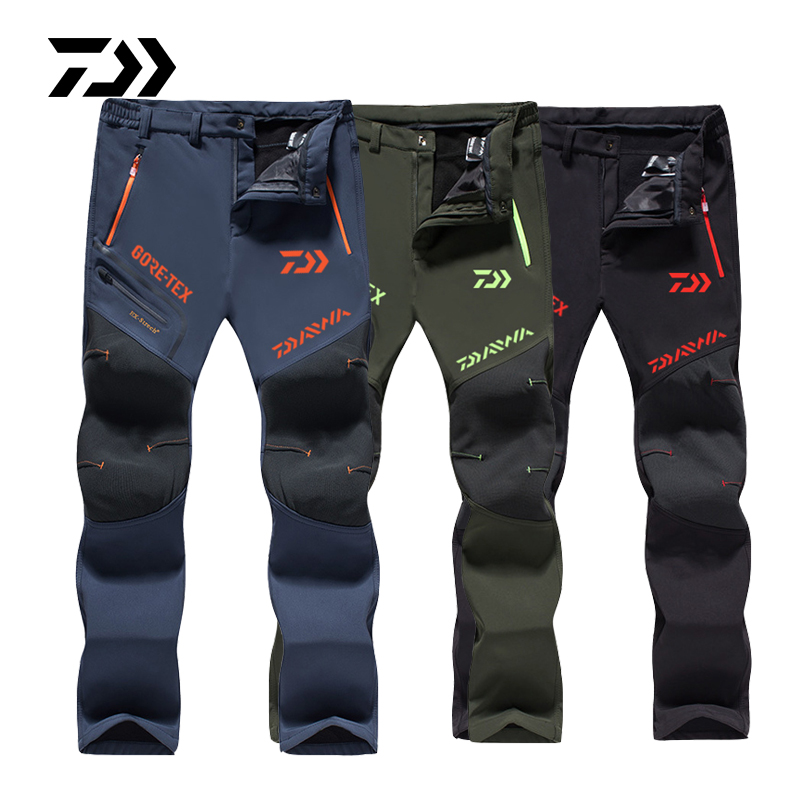 2019 Spring Autumn Daiwa Fishing Pants Breathable Outdoor Hiking Camping Trouser Sun Protection Nylon Waterproof Quick Dry Pants