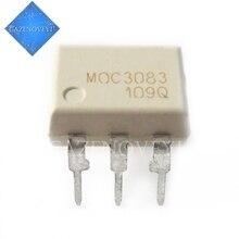 10 unids/lote MOC3083 M0C3083 EL3083 DIP 6 optoacopladores de salida Triac y SCR 800VDRM IFT = 5mA 6 Pin optoacoplador nuevo original en Stock