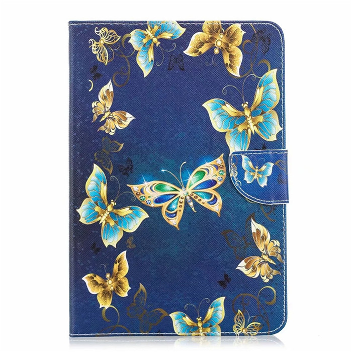 Blue Butterfly Black Coque for iPad 10 2 Case for iPad Air 3 Case Pro 10 5 Case Cute