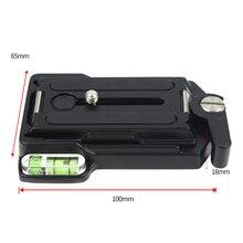 Placa de liberação rápida da lente da câmera dslr placa de tripé parafuso monopé liberação rápida placa de grampo adaptador de foto acessório QRA 635L