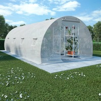 VidaXL Greenhouse With Steel Foundation 18 M² 600 X 300 X 200cm