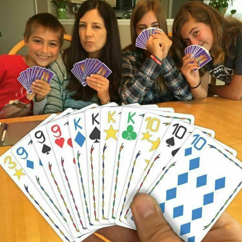 Card Games  Travel Family Gathering Five Crowns Interactive Home For Children Adluts Playing Card Game Educational Toy Club
