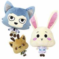 30cm Anime BEASTARS Legosi Haru Cosplay felpa juguete lindo Lobo conejo Animal ciervo muñeca Decoración Juguetes mejor chica para niñas niños