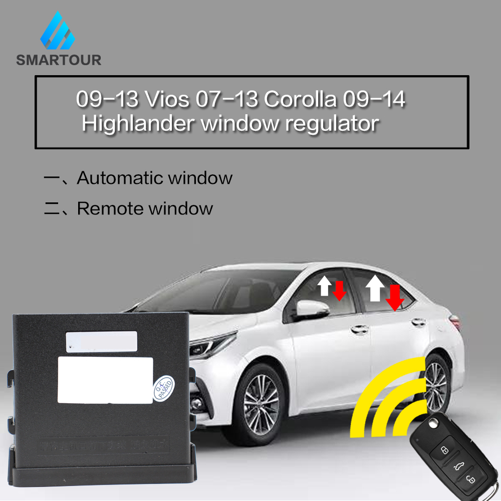 Automatic Window Closer For Toyota Camry RAV4 Yaris Vios Corolla Yaris Highlander/Key Remote Control Four Window Automatic Lift