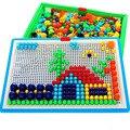 296 Интеллектуальные 3D игры-пазлы с ногтями в виде грибов, пластиковый фонарик с ногтями в виде грибов «сделай сам», детские игрушки, развиваю...