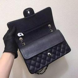 High quality lady bag caviar top designer handbag large capacity luxury leather crossbody shoulder handbag lady