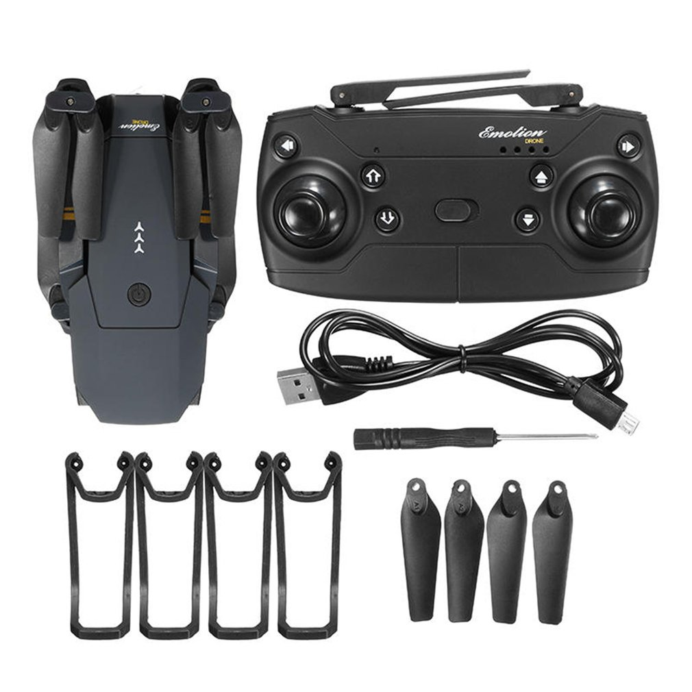 E58 WIFI FPV With 720P/1080P HD Wide Angle Camera High Hold Mode RC Drone Quadcopter RTF With battery With Bag