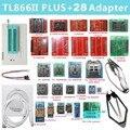 Maxgeek TL866II PLUS программатор USB BIOS программатор поддержка для NAND Flash AVR MCU GAL PIC SPI + 28 адаптеров