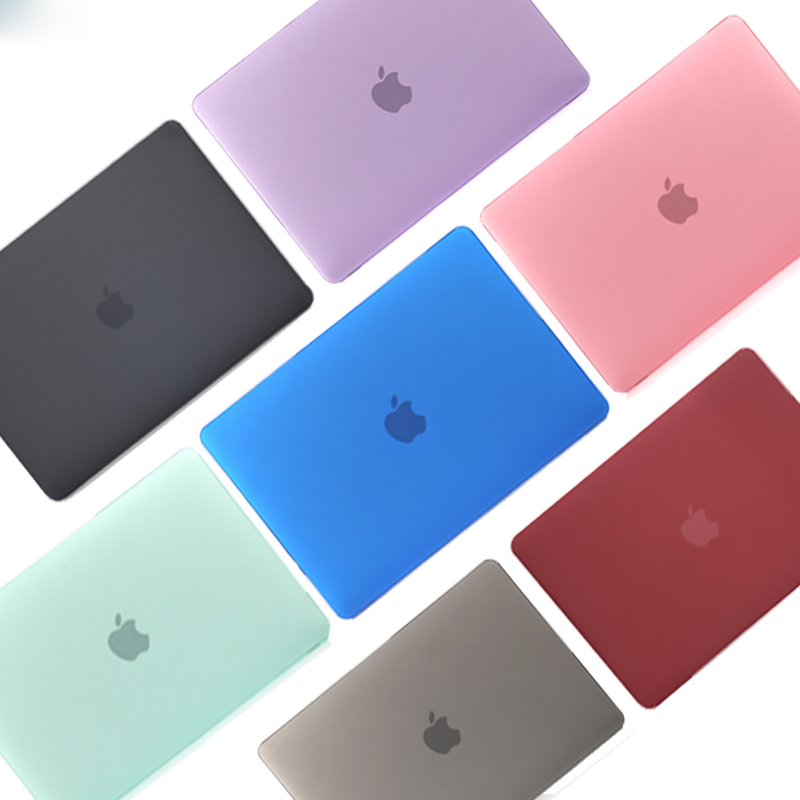 Novo 2020 ar 13 a2179 novo pro13 a2289 a2251 cristal fosco caso do portátil para macbook ar pro a1932 a2159 a1706 a1989 barra de toque id