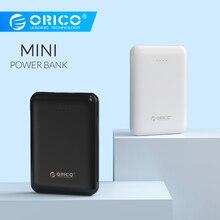 ORICO 5000 мАч Внешний аккумулятор Двойной USB портативный тонкий повербанк портативный внешний аккумулятор для iphone Xiaomi Мобильный телефон