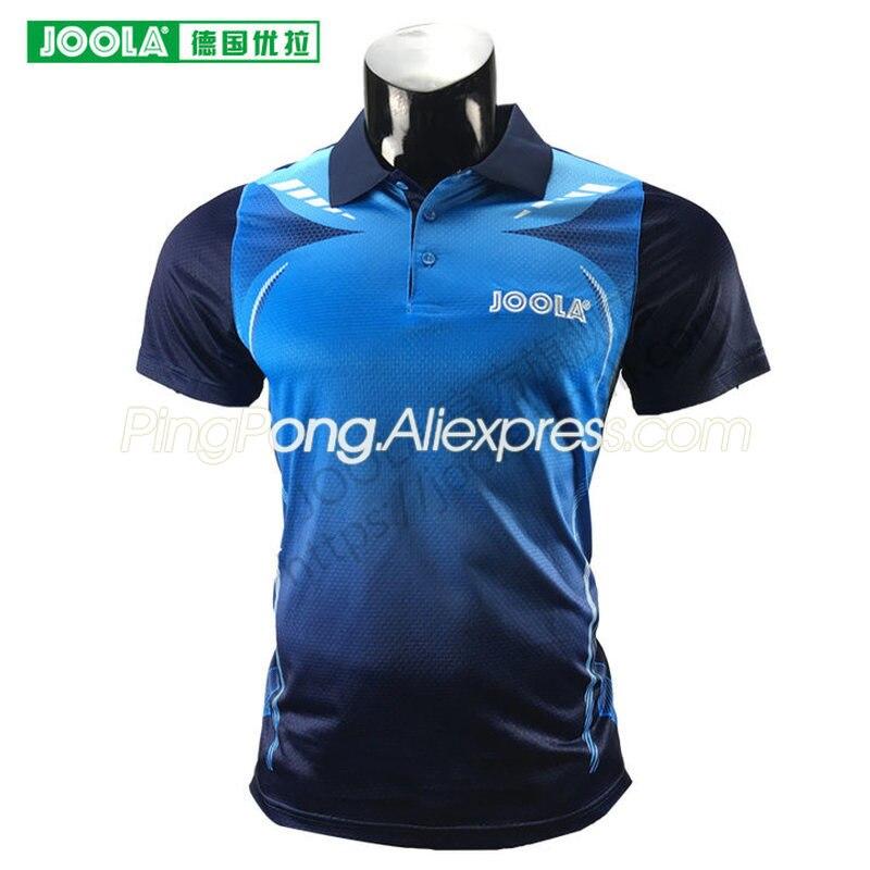 Где купить Джазовая футболка JOOLA 692 для настольного тенниса, футболка для мужчин и женщин, одежда для пинг-понга