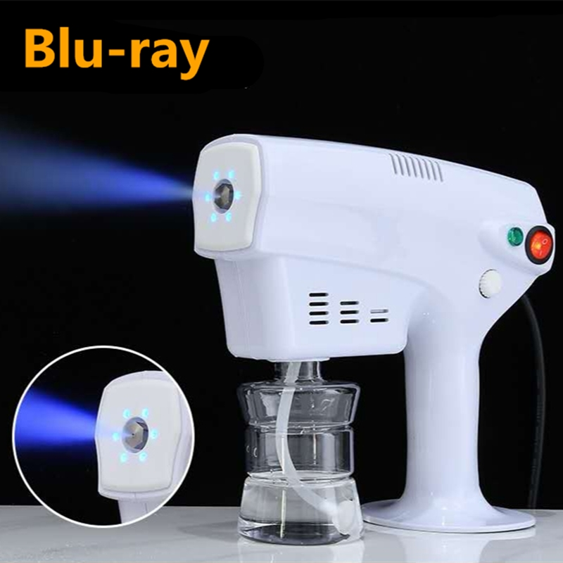 1200W EU US 250ML Sprayer Fogger Machine Disinfection Nano-Steam 360 Degree Sterilization Hair Spray Ultra Fine Aerosol Water