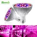 E27 Светодиодный светильник для выращивания полный спектр 265 в фитоламп полный спектр для растений E14 лампы для растений для гидропоники ламп...