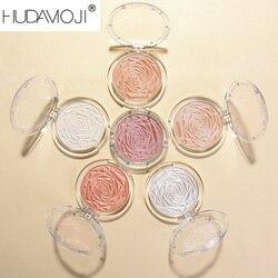 6 Colors Diamond Pearlescent Highlight Skin-friendly Brighten Waterproof Long Lasting Natural Repair Contour Highlight TSLM1