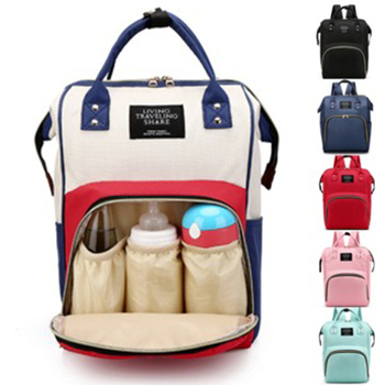 New Nappy Backpack Bag Mummy Large Capacity Bag Mom Baby Multi-function Waterproof Outdoor Travel Diaper Bags For Baby Care multi function large capacity waterproof travel mummy maternity nappy baby bag travel backpack mom baby diaper nursing bags