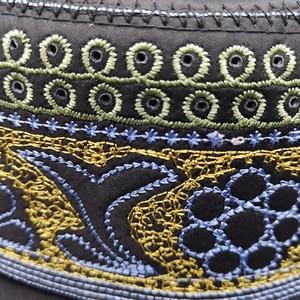 Image 3 - New black muslim hats for men Prayer Beanie Turkish Arabic Hats Knitted Islamic Caps Headscarf Clothing Crochet Islamic Fashion