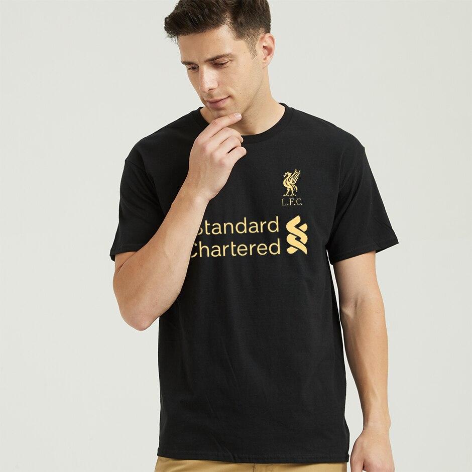Mo Salah You'll Never Walk Alone Never Give Up Liverpool   T     Shirt   Champions League Final Madrid 2019 O Neck 3D printing   T  -  Shirt