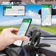 Support de téléphone portable pour voiture, 360 degrés, montage sur tableau de bord, avec cartes de stationnement