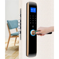 Certification authority Security Intelligent Door Lock Biometric Fingerprint Lock Safe Eletronic Door Smart Unlock Digital Lock