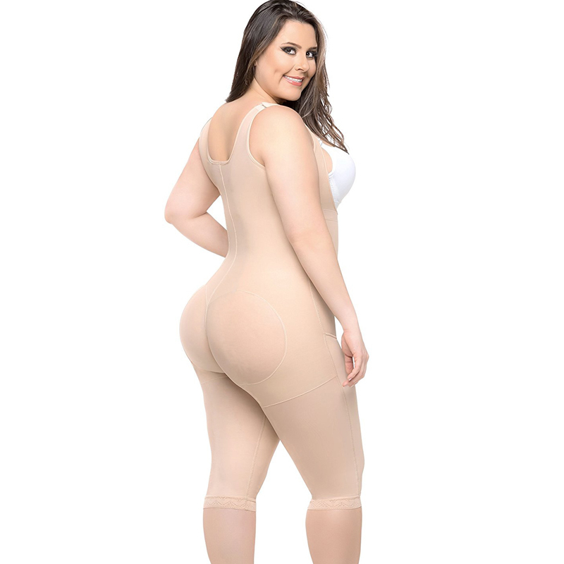 Plus Size Body Shaper Padded Panties Women Slimming Corset Tightening Underwear Butt Shaper Opening Crotch Tummy Belt Reducing
