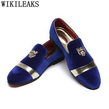 Zapatos italianos De lujo para Hombre, mocasines formales De negocios, vestido De...