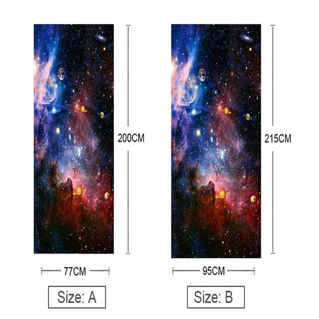 наклейки на двери звездные водонепроницаемые 3d обои для гостиной фотография
