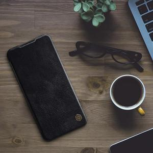Image 5 - Nillkin for Xiaomi Redmi Note 8T Case Capa Soft Genuine Leather Wallet Smart Phone Back Cover Flip Case on Redmi Note 8T Cases