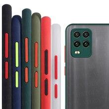 Voor Realme 8 Pro Case Voor Oppo Realme 8 Pro Cover Shockproof Tpu Bumper Matte Transparante Armor Telefoon Geval Voor realme 8 Pro Case