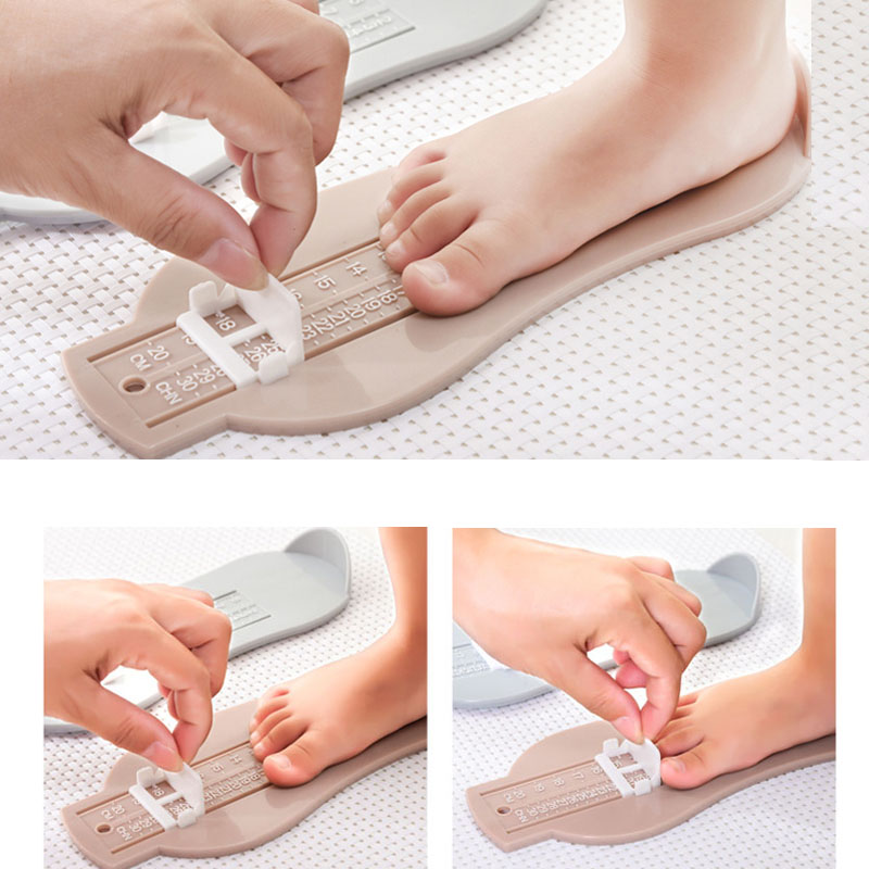 Multi Colors Baby Foot Ruler  Length Measuring Device Child Shoes Calculator For Baby Infant Shoes Fittings Gauge Tools AXP001