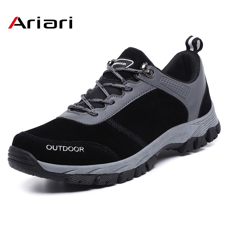 Men Waterproof Outdoor Shoes Anti-skid Comfortable Men's Hunting Travel Shoe Trekking Sneakers Tactical Shoe Mountain Speedcross