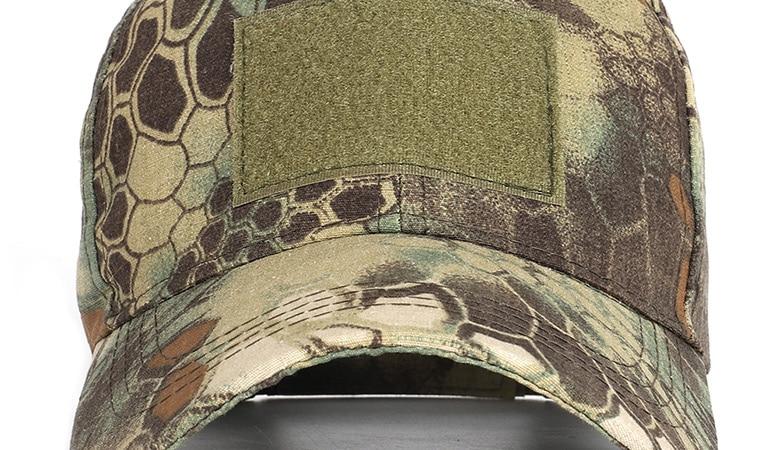17 Colors Camo Men's gorras Baseball Cap Male Bone Masculino Dad Hat Trucker New Tactical Men's Cap Camouflage Snapback Hat 2020 26