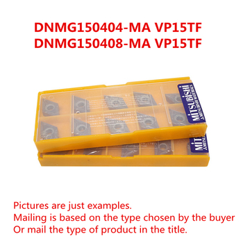 MITSUBISHI DNMG150404-MA VP15TF/DNMG150408-MA VP15TF CNC Turning Carbide inserts Steel, Stainless Steel Original Free shipping