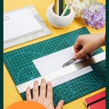 Tapete de corte de papel a1/a2/a3/a4/a5, cortador de papel multifunções, de pvc, autocura, para cortar ferramentas artesanais diy, material de escritório, escola