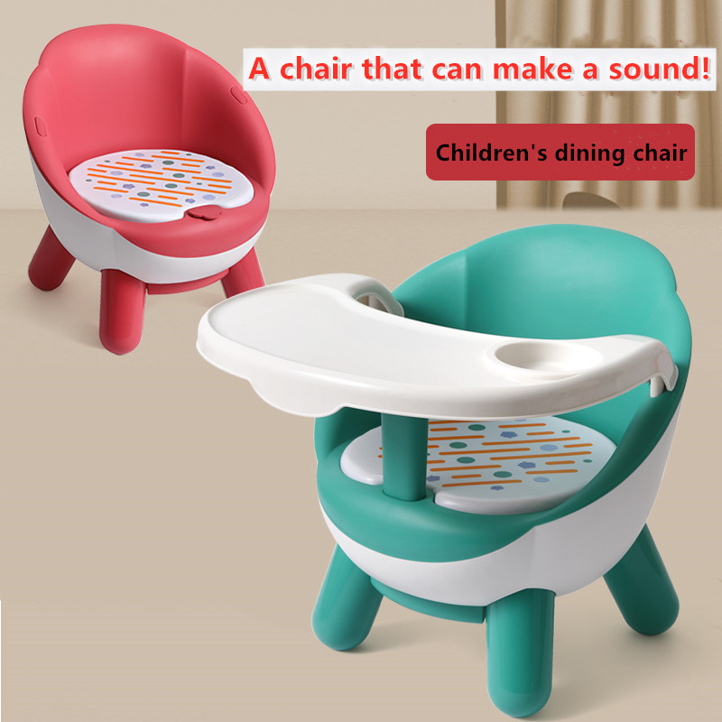 Baby Meal Dining Chair Child Chair Seat Plastic Back Chair Called Chair Dining Chair Cartoon Small Chair Bench